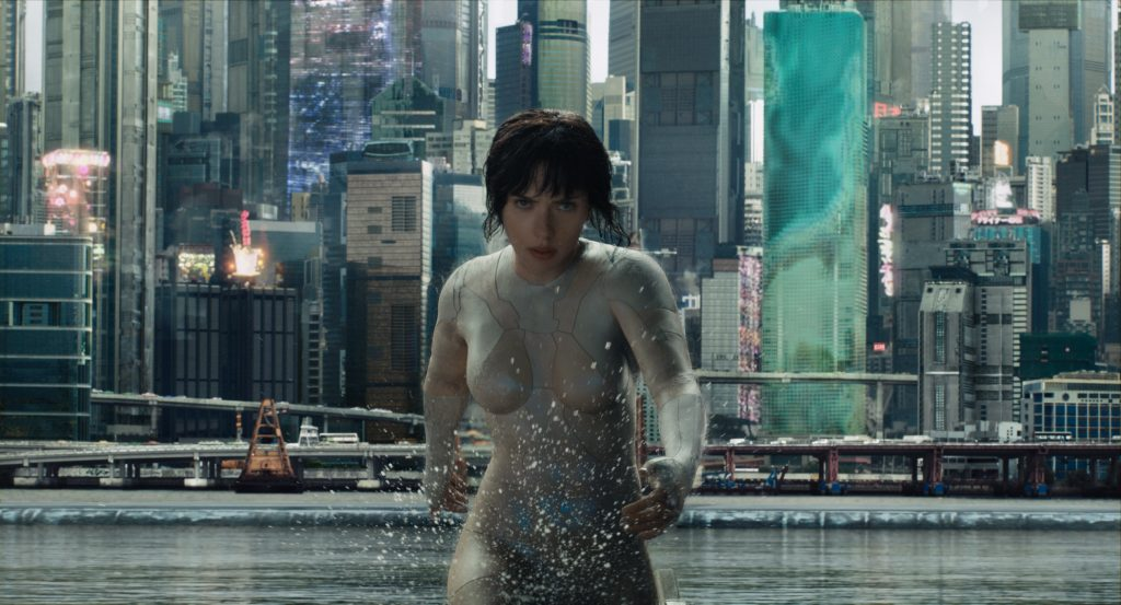 movies filmed in wellington ghost in the shell