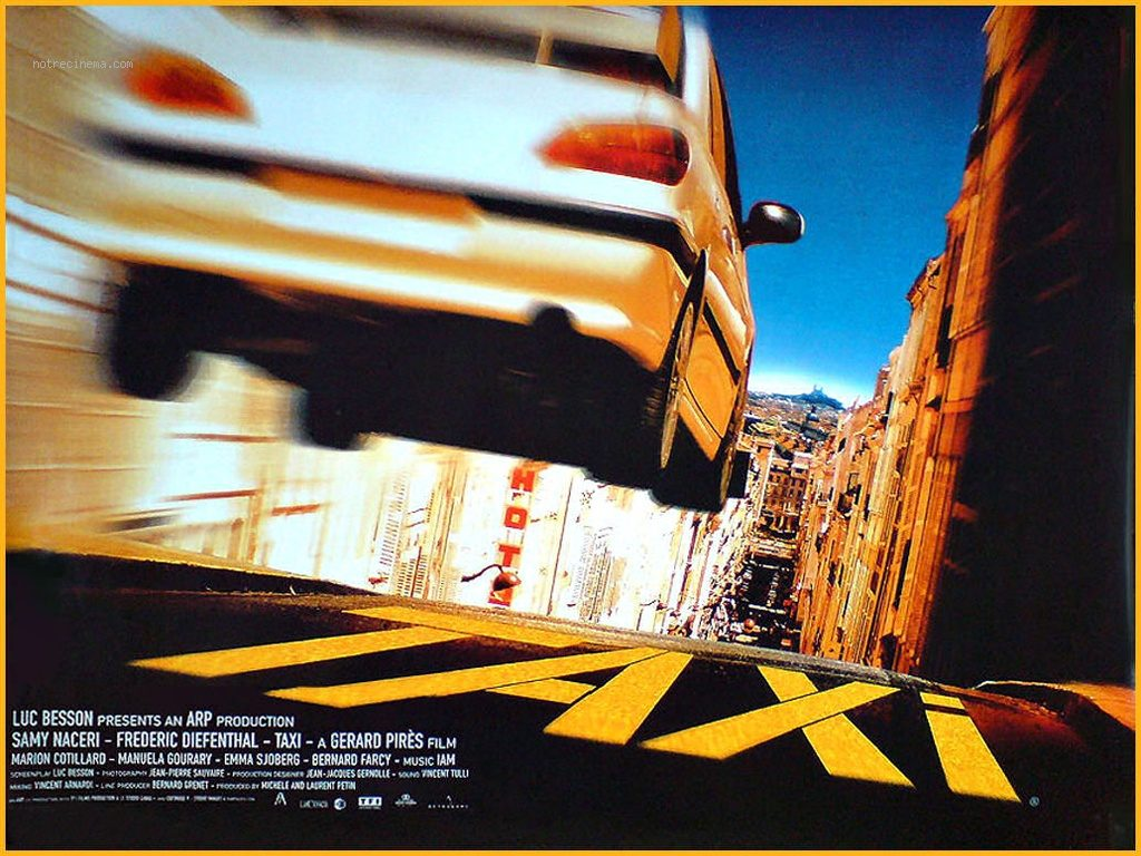 top french action movie taxi 1998