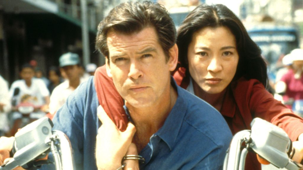 movies filmed in Bangkok Tomorrow never dies