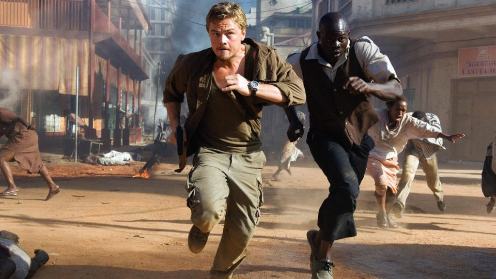 movies filmed in South Africa blood diamond