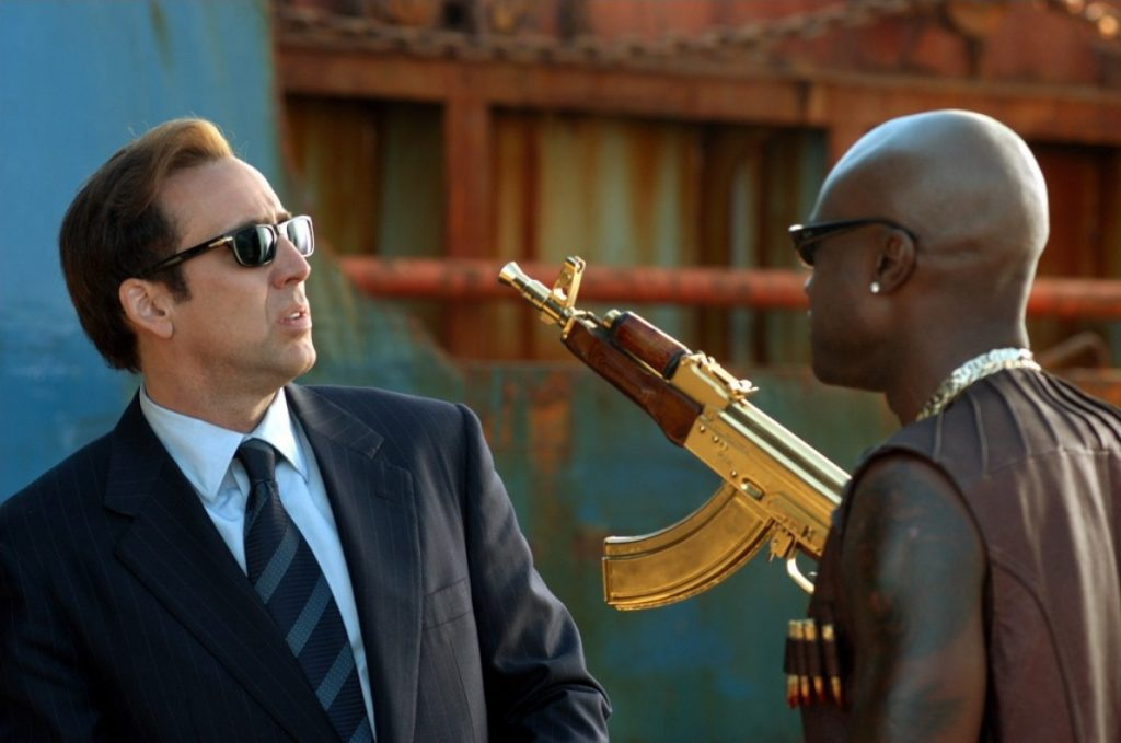 movies filmed in south africa lord of war