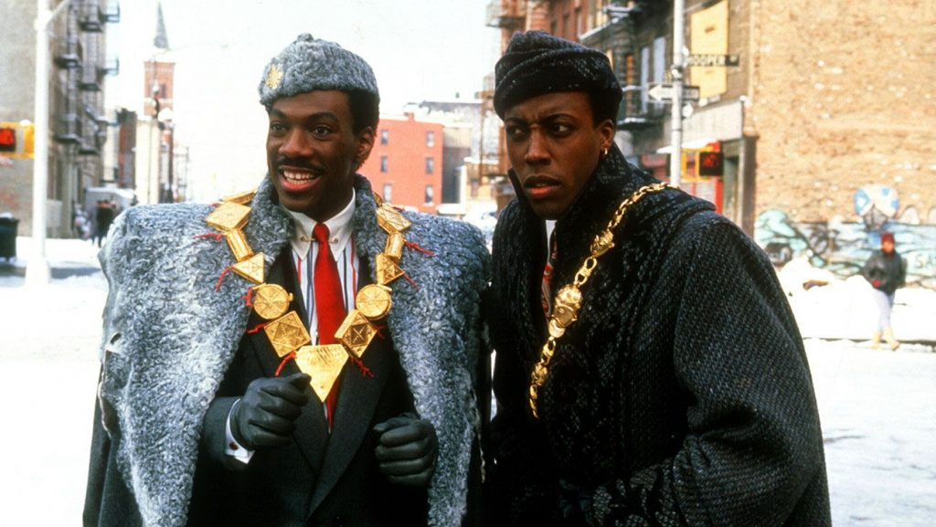 movies filmed in queens - coming to america